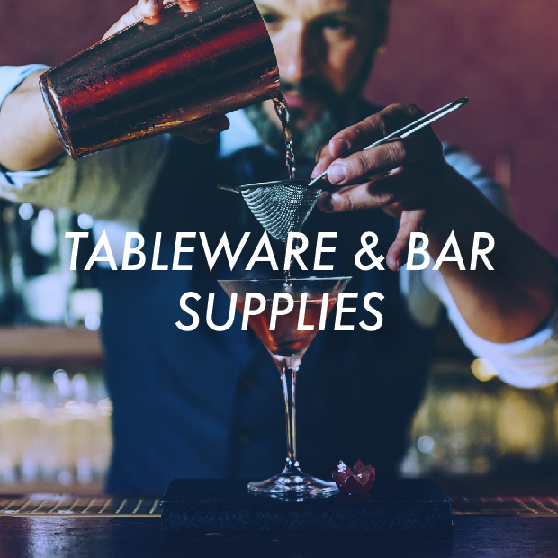 Tableware and Bar supplies